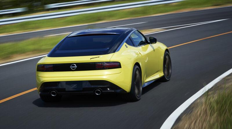 Nissan Z Proto on track