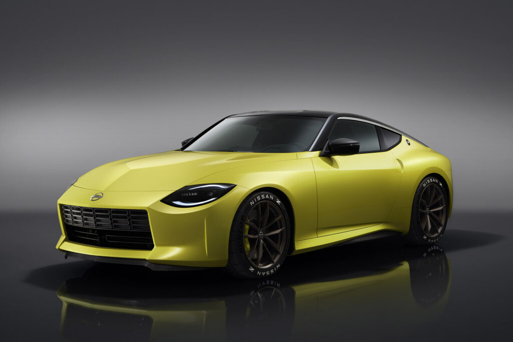 Nissan Z Proto front perspective view