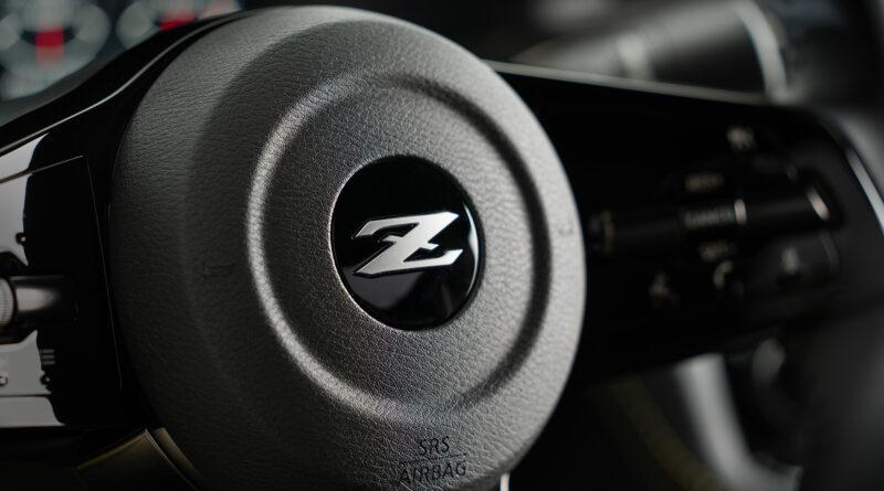 Nissan Z Proto steering wheel hub
