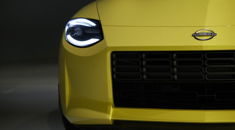 Nissan Z Proto headlight front view