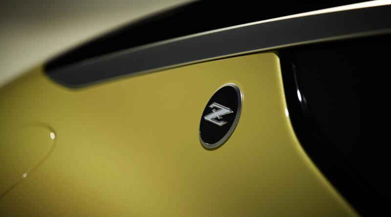Nissan Z Proto Z badge