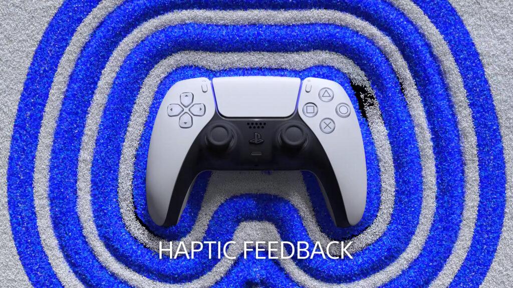 PlayStation 5 DualSense Controller Haptic Feedback