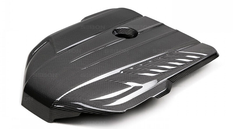 Seibon Carbon Fiber Engine cover for Toyota GR Supra