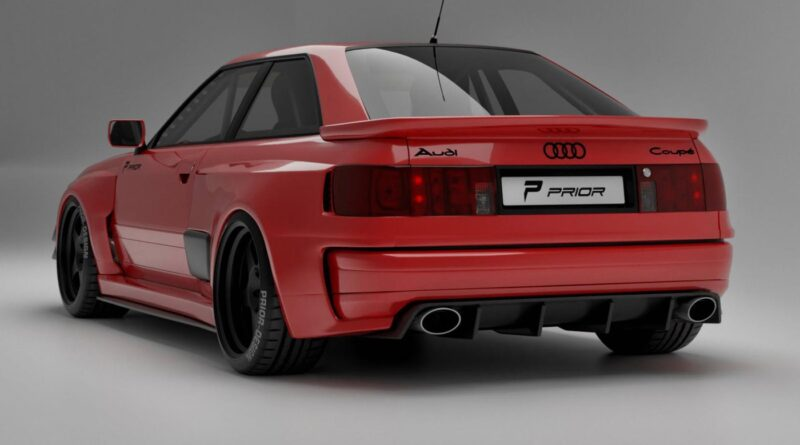 Prior Design Audi Coupe Project Widebody Kit rear view