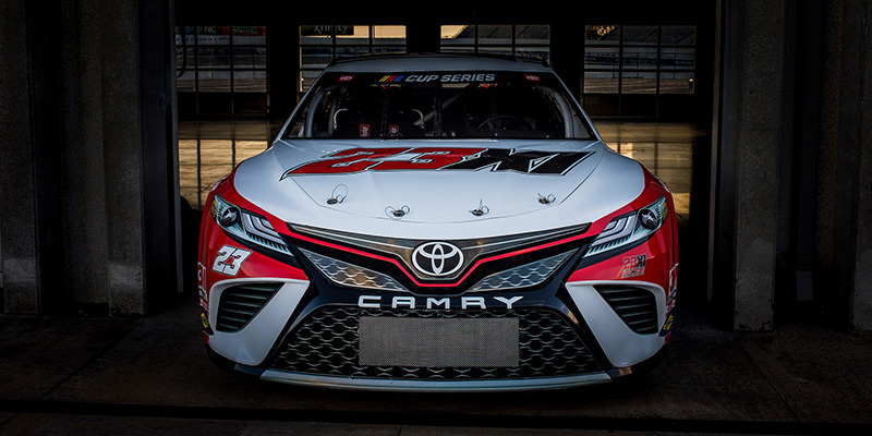 23XI Racing reveals their #23 Toyota Camry NASCAR