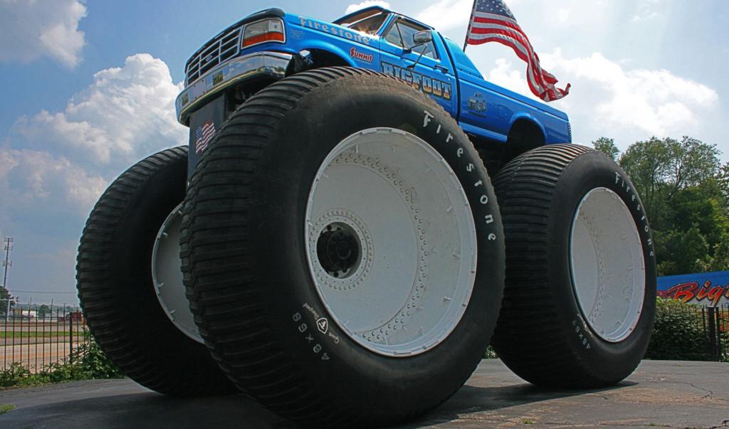 The original BIGFOOT monster truck.