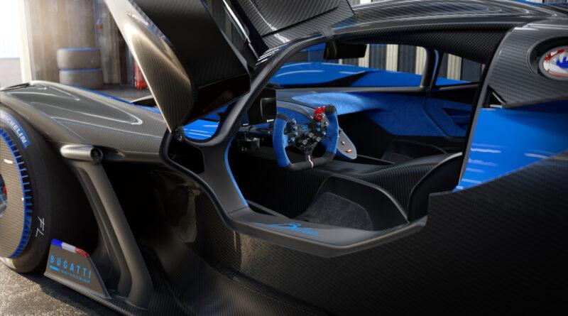Bugatti Bolide driver side door open
