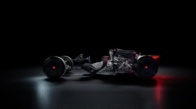 Bugatti Bolide drivetrain and motor