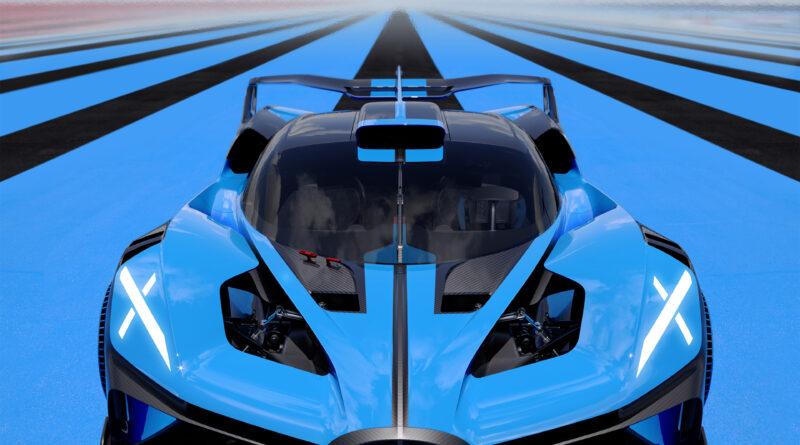 Bugatti Bolide front view