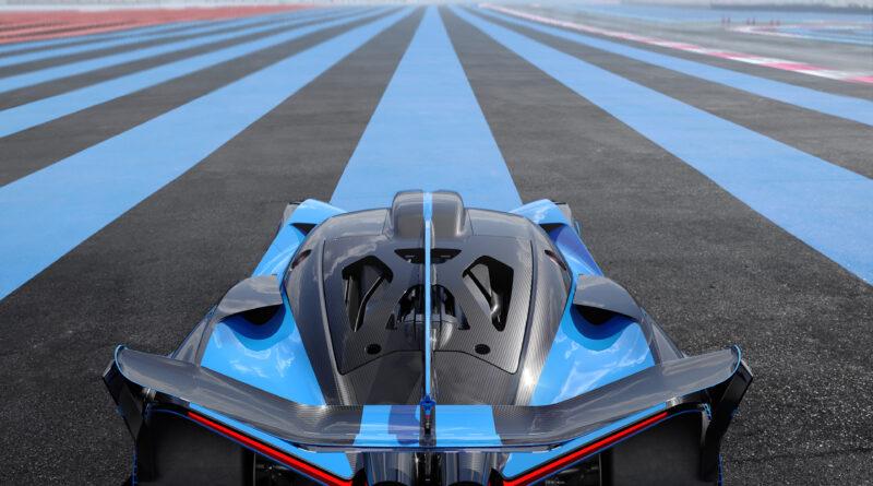 Bugatti Bolide rear view