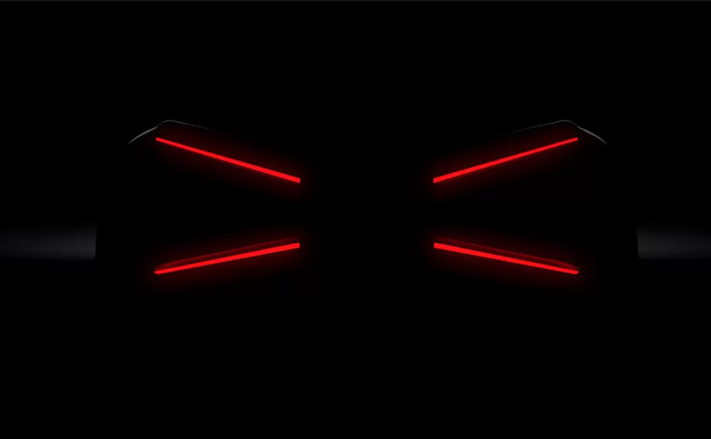 This is a image that Bugatti uploaded to their website on October 22nd 2020 teasing a new car