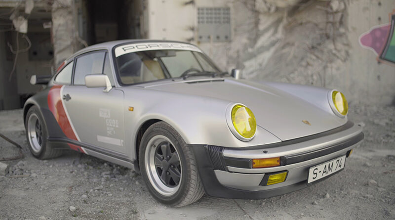 Cyberpunk 2077 real-live version of Johnny Silverhand's 1977 Porsche 911 Turbo