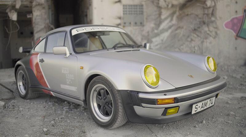 Cyberpunk 2077 real-live version of Johnny Silverhand's 1977 Porsche 911 Turbo