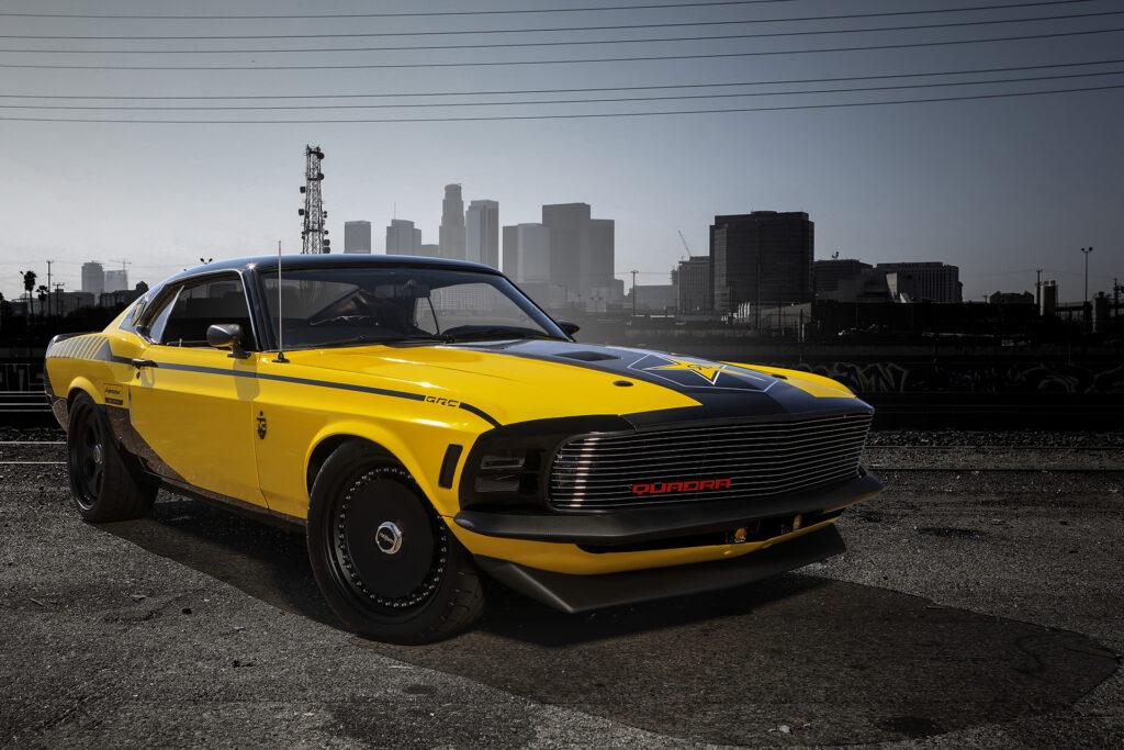 Cyberpunk 2077 Quadra Ford Mustang Built by Rockstar Performance Garage