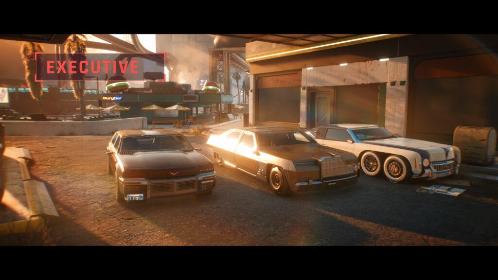 Cyberpunk 2077 executive car class