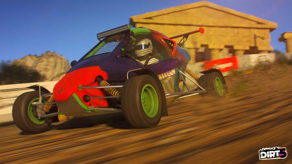 DIRT 5 screenshot of Cross Kart class car