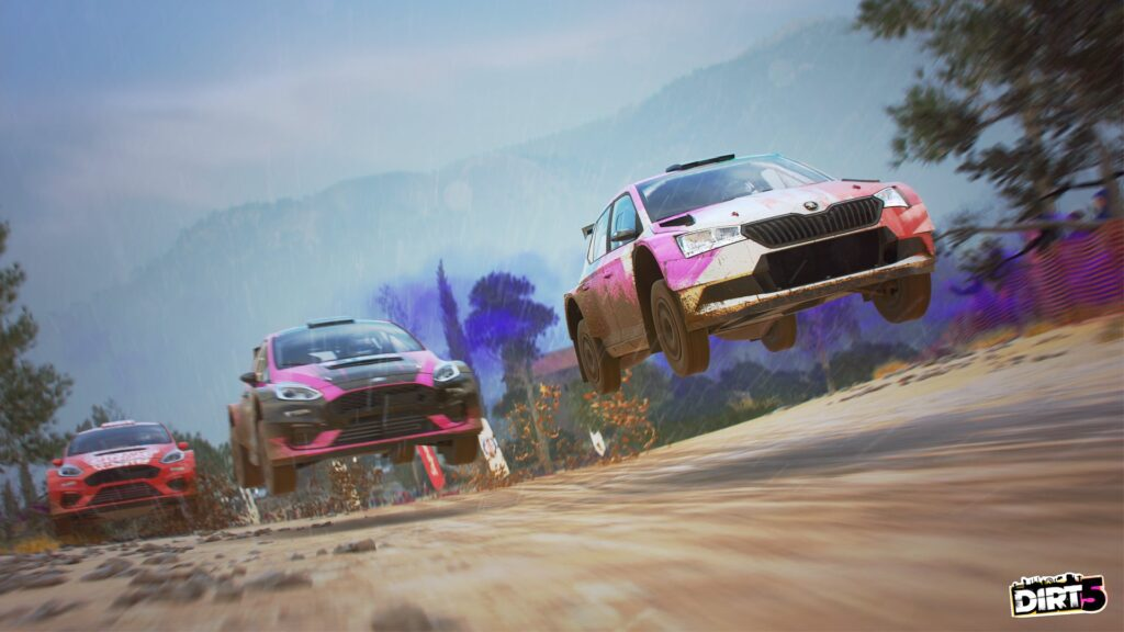DIRT 5 screenshot of Modern Rally car