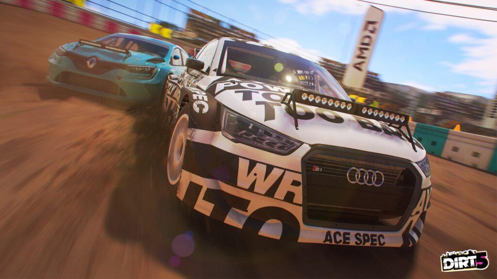 DIRT 5 screenshot of Audi Rally Cross car