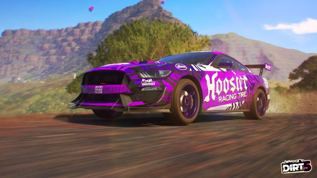 DIRT 5 screenshot of Ford Mustang Rally GT car