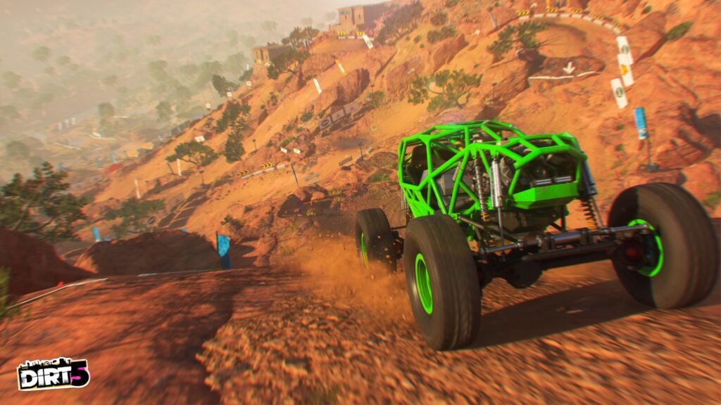DIRT 5 screenshot of Rock Bouncer car