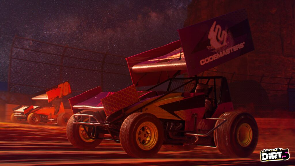 DIRT 5 screenshot of Sprint car