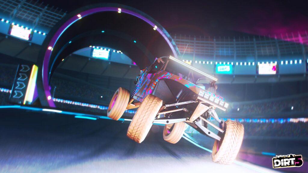 DIRT 5 screenshot of unlimited car class