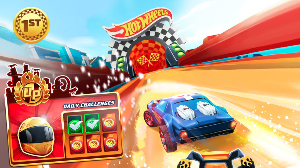 Hot Wheels Unlimited Mobile Game daily challenges screenshot
