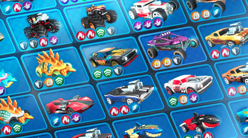 Hot Wheels Unlimited Mobile Game collecting Hot Wheels cars screenshot