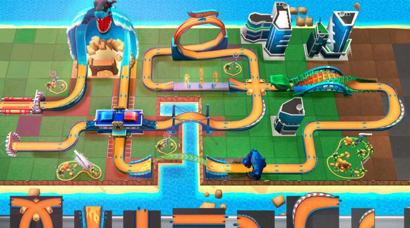Hot Wheels Unlimited Mobile Game track builder screenshot