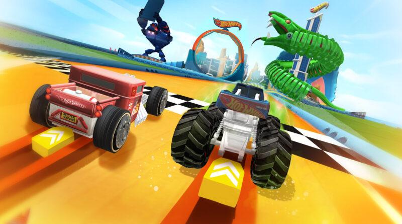 Hot Wheels Unlimited Mobile Game head to head racing screenshot