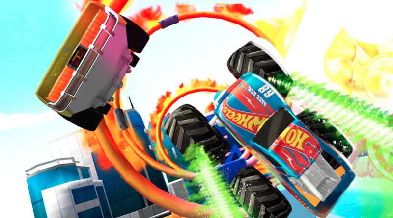 Hot Wheels Unlimited Mobile Game stunt track screenshot
