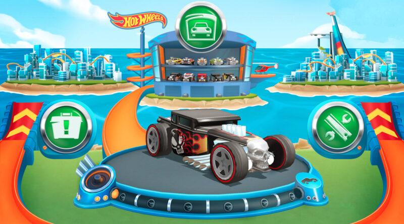 Hot Wheels Unlimited Mobile Game car customization screenshot