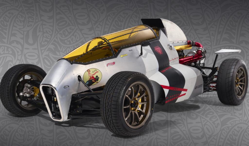 The 2JetZ Hot Wheels legends winner built by Luis Rodriguez