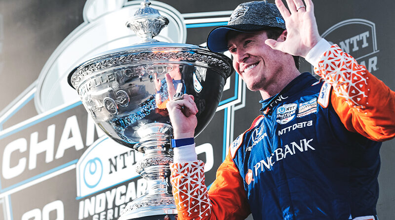 Scott Dixon wins sixth Indy Car Championship at season finale in St. Petersburg.