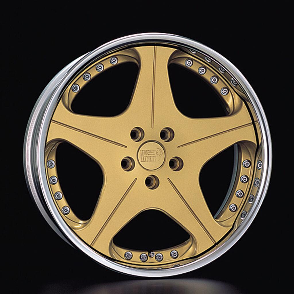 Leon Hardiritt Orden wheel in gold finish