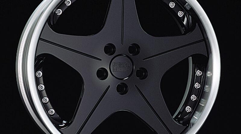 Leon Hardiritt Orden wheel in matte black finish
