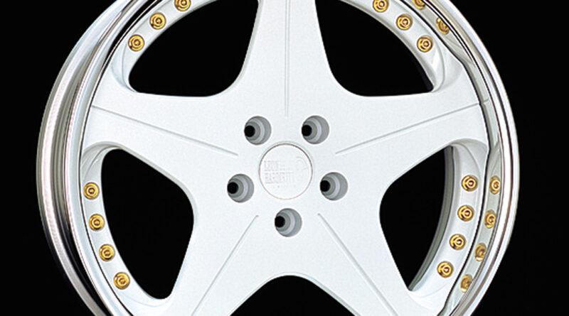 Leon Hardiritt Orden wheel in white finish