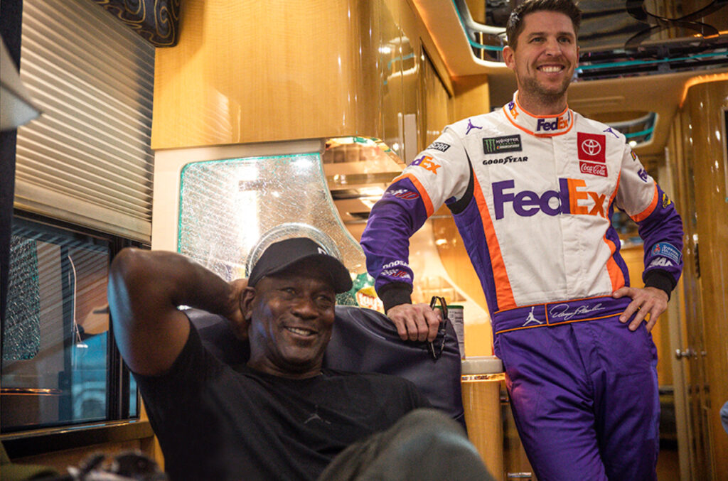 Michael Jordan and Denny Hamlin announces a new NASCAR team called 23XI Racing. Their driver will be Bubba Wallace