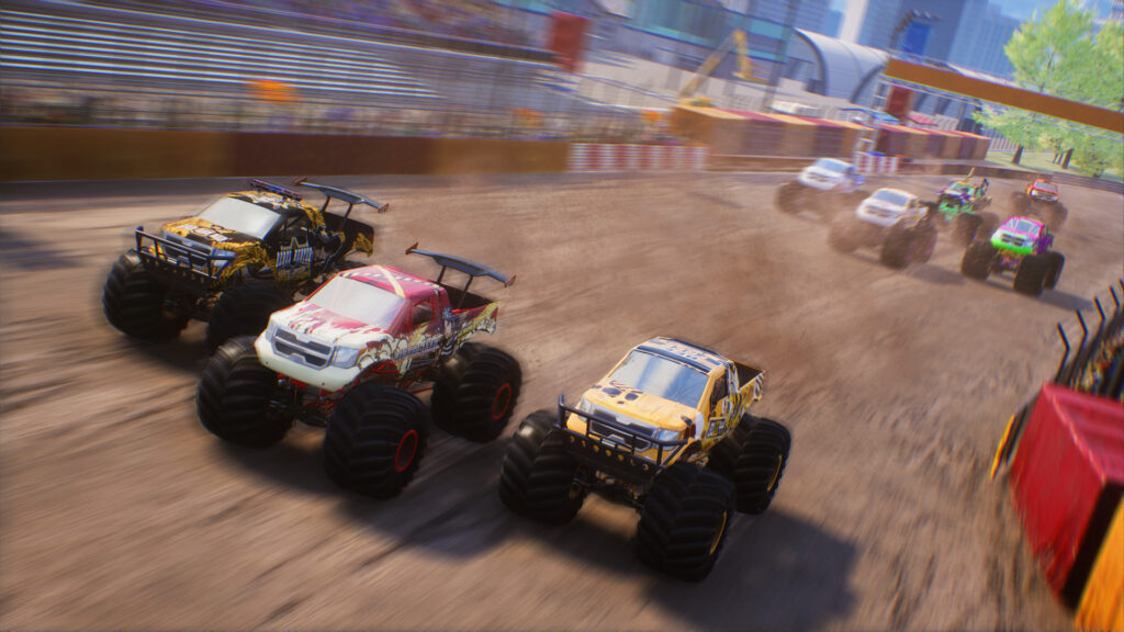 Monster Truck Championship screenshot. Monster Trucks racing