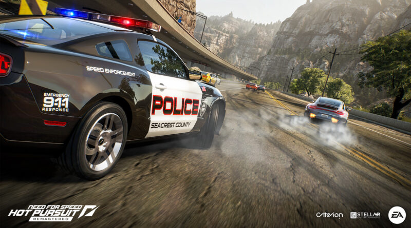 Need For Speed Hot Pursuit Remastered Ford Shelby GT 500 Cop car
