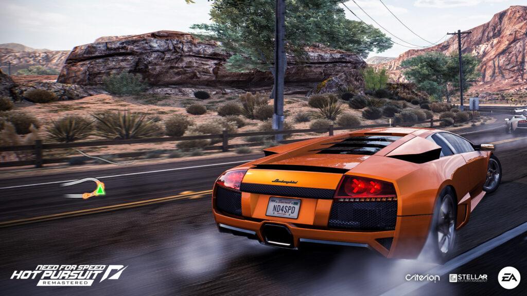 Need For Speed Hot Pursuit Remastered Lamborghini Murcielago LP640