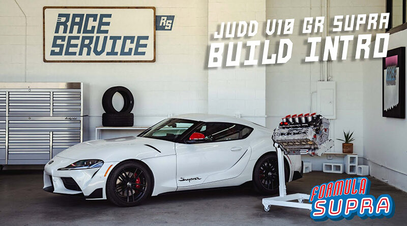 Ryan Tuerck gives a walkthrough of his latest project. Swapping a Judd V10 into a Toyota GR Supra.