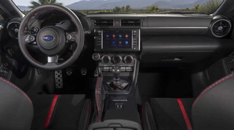 2022 Subaru BRZ interior wide view