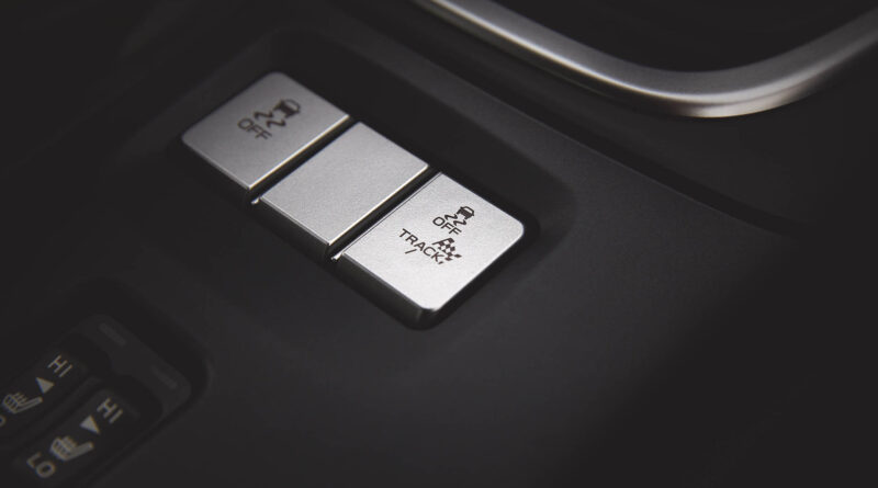 2022 Subaru BRZ drive mode buttons