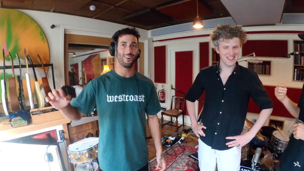 "Daniel Ricciardo's YouTube vlog ""No Brakes"" episode 4. Daniel hangs out with Australian indie band ""Gang Of Youths"""