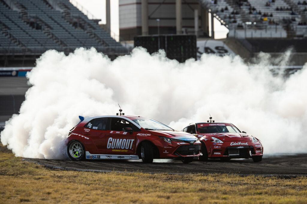 Formula Drift Texas Pro Round 5 Ryan Tuerck vs Jeff Jones