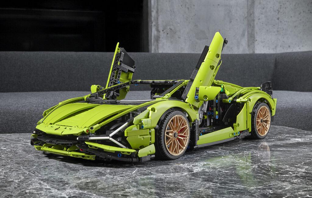 LEGO Technic Lamborghini Sian set
