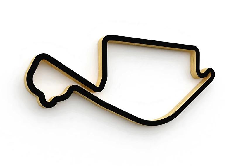 Linear Edge Long Beach Grand Prix track sculpture
