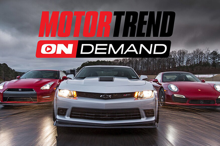 MotorTrend On Demand streaming service