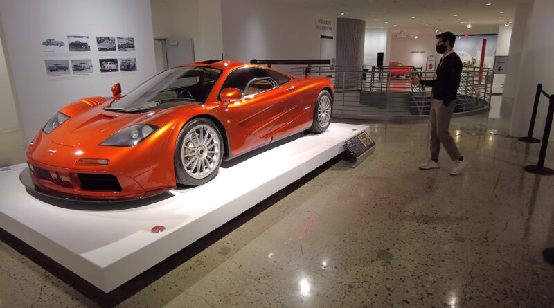 The Petersen Automotive Museum launches virtual tour on YouTube